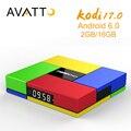 [Auténtica] S912 T95K pro 2 GB 16 GB Amlogic Android 6.0 Smart TV Box Kodi octa-core 17.0 de Carga Completa, WIFI, BT4.0, 4 K, H.265 Decodificador