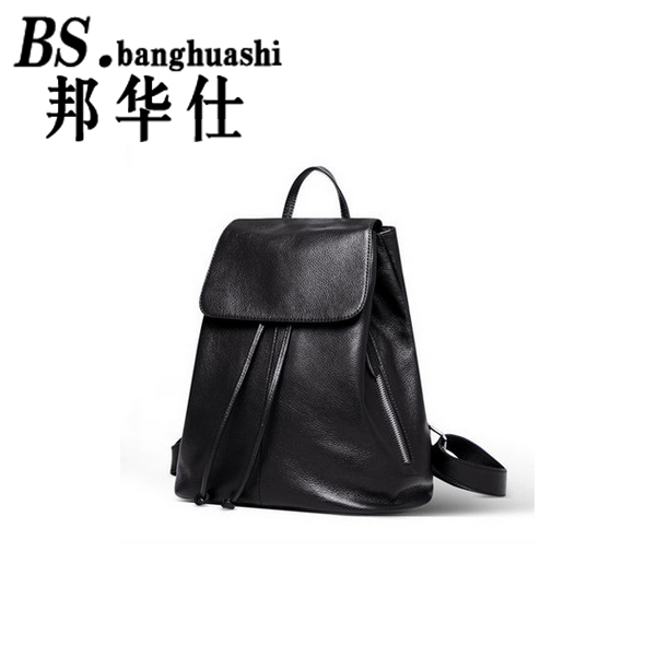 ФОТО Fashion Women Backpack High Quality Youth Leather Backpacks for Teenage Girls Female School Shoulder Bag Bagpack