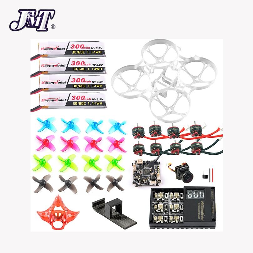JMT Conjunto Completo DIY Mobula 7 V3 Acessórios Crazybee F4 PRO V3 Quadro Zangão FPV VTX SE0802 Motor Turbo Eos2 câmera para Mobula7
