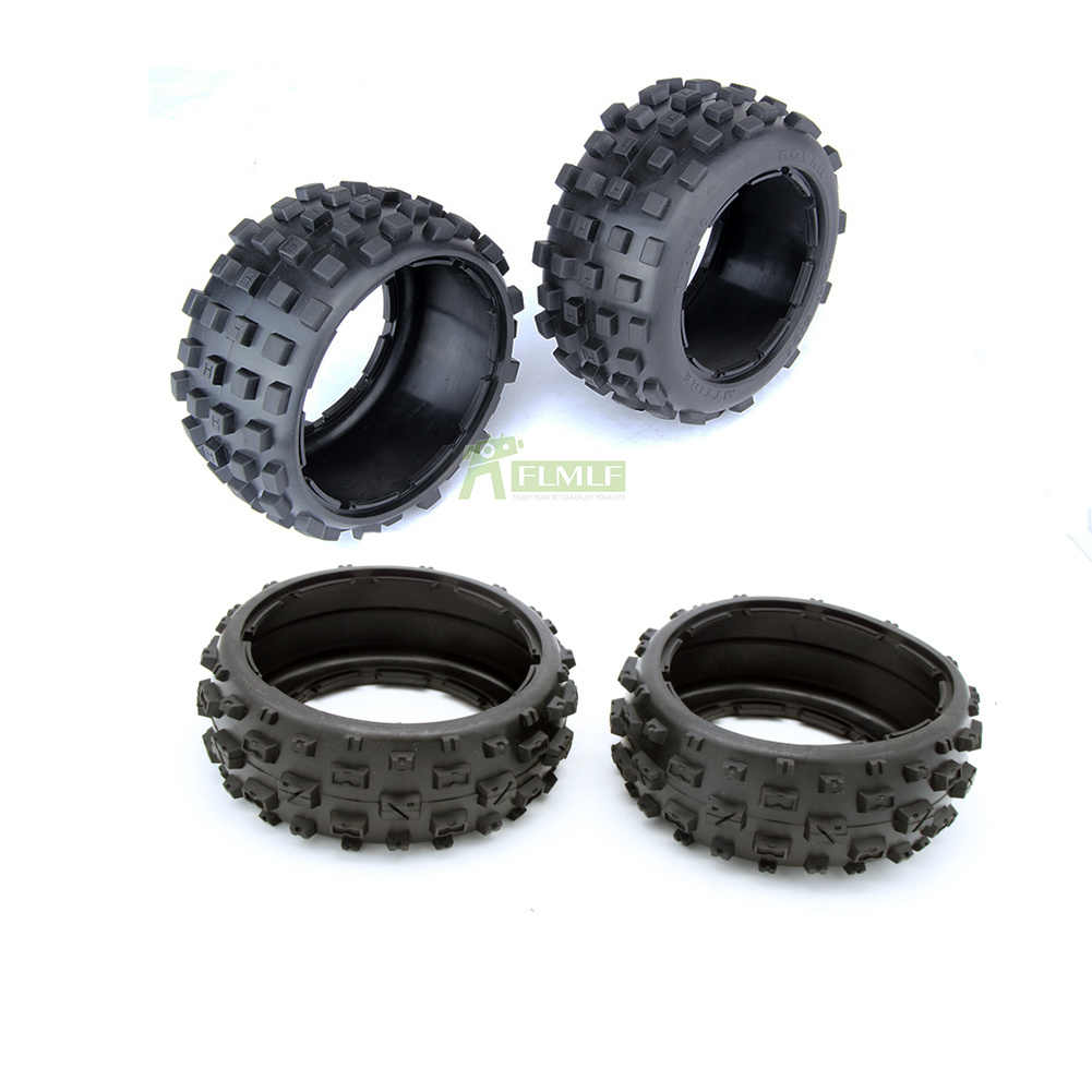 5B Front & Rear knobby tire set (without inner foam)  for 1/5 HPI Baja 5b ss Rovan Kingmotor car