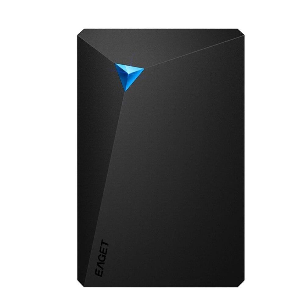EAGET G20 disco duro externo HDD cifrado tipo disco duro USB 3,0 interfaz Ultra rápida velocidad de lectura y escritura para PC portátil