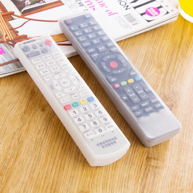 Protective Case For Home Air Conditioning TV Set Dustproof Accessories Waterproof Silicone Remote Control Remote Cover Bolsos D