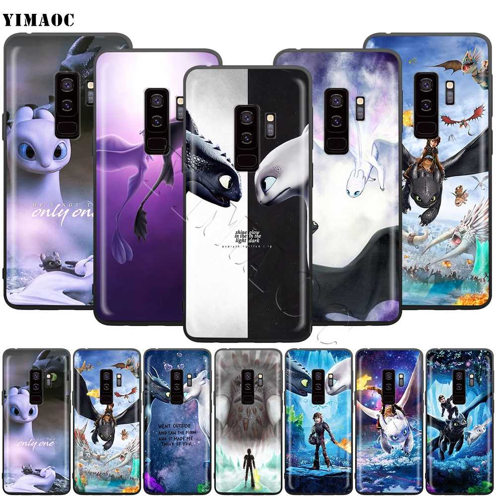 YIMAOC Toothless How To Train Your Dragon Soft Silicone Case for Samsung Galaxy S6 S7 Edge S8 S9 Plus A3 A5 A6 Note 8 9