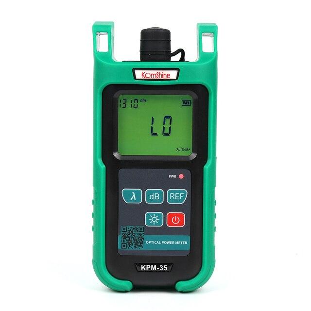 Professional manufacturer Optic fiber power meter KomShine KPM-35 with 850,1300,1310,1490,1550,1625nm,-70+3dBm