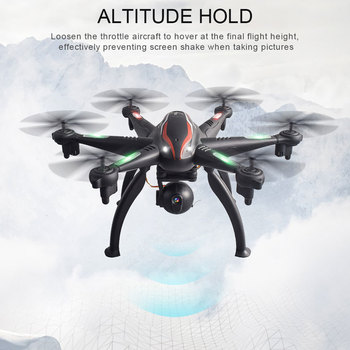Professional Intelligent Drone 2.4G/5G Wifi FPV 720P/1080P HD Wide-angle Camera Dual GPS Headless Mode Follow Me Hexrcopter