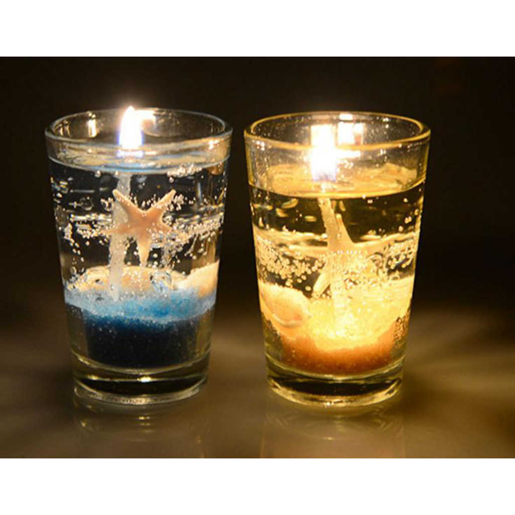 ... 600g Clear Jelly Candle Making Gel Wax Transparent DIY Candles Making Supplies ...