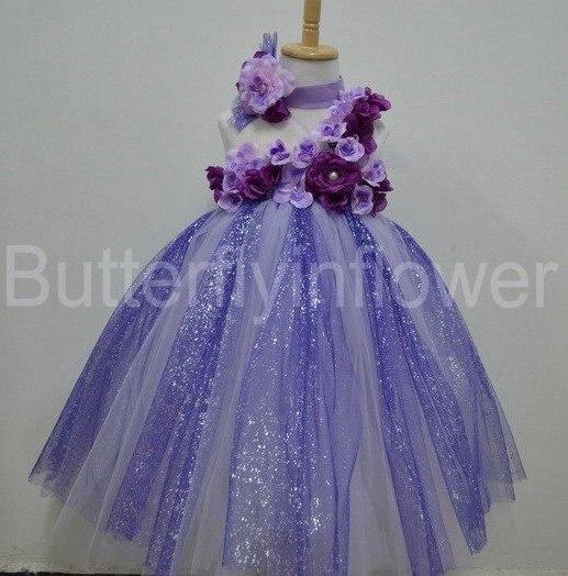 Aliexpress.com : Buy flower girl dress patterns 12sets/lot from ...
