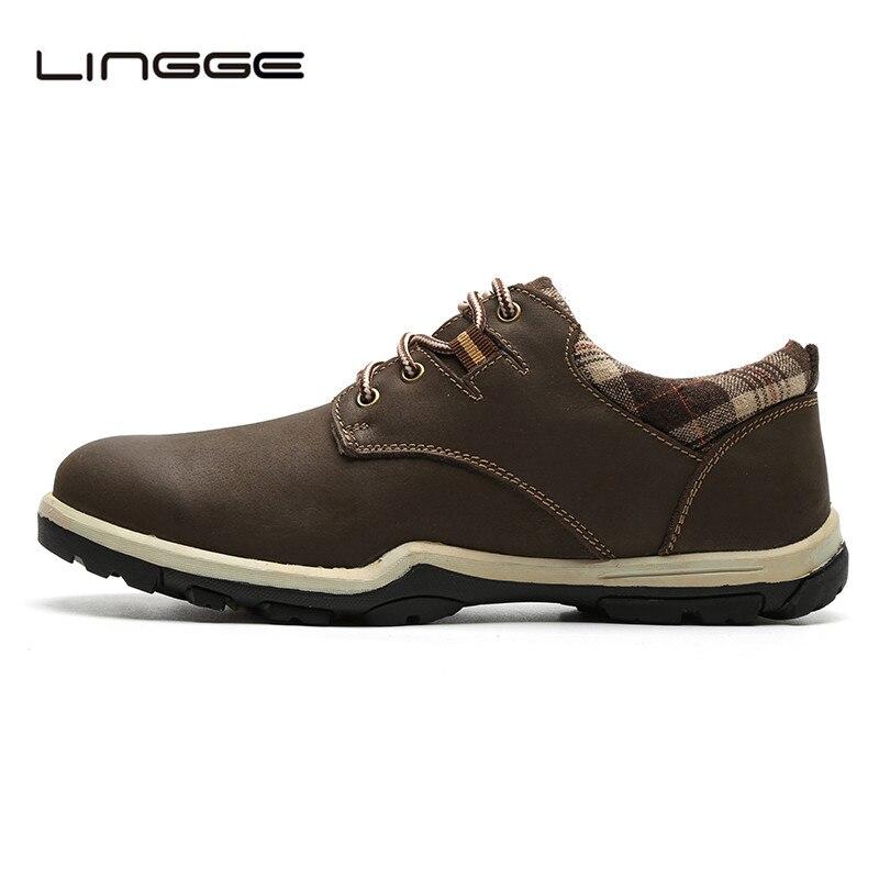 LINGGE 2017 Brand Fashion Design Men Shoes, Warm Winter Lace Up Boots For Man, Basic Men Short Plush Boot #M692-11 vikeduo brand fashion bullock carved design man s men shoes boot 100