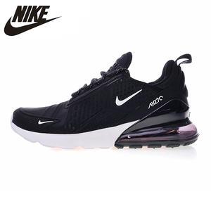 sale retailer 3260f bf54e Nike AH8060 Air Max 270 Men s Running Shoes Black black   Gold  Shock-absorbing