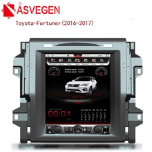 Asvegen Vertich 12.1'' 2G Ram Android 7.1 Quad Core Car DVD Radio For Toyota Fortuner 2016 2017 Multimedia Player GPS Navigation