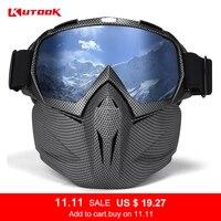 KUTOOK HD Lenses Ski Glasses Snow Goggles Snowboard Goggles UV400 Anti fog Windproof Skiing Equipment Ski Mask Riding Glasses