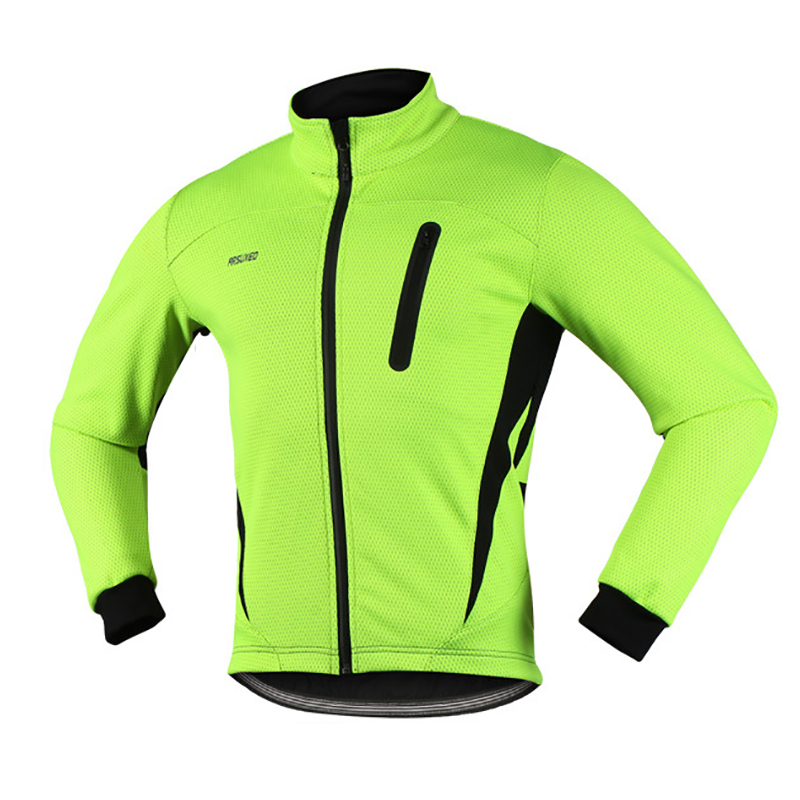 Thermal Cycling Jacket Winter Warm Up Fleece Bicycle Clothing Windproof Sports Coat MTB Bike Cycling Jersey wosawe outdoor sports windproof winter long sleeve cycling jacket unisex fleece thermal mtb riding bike jersey men s coat