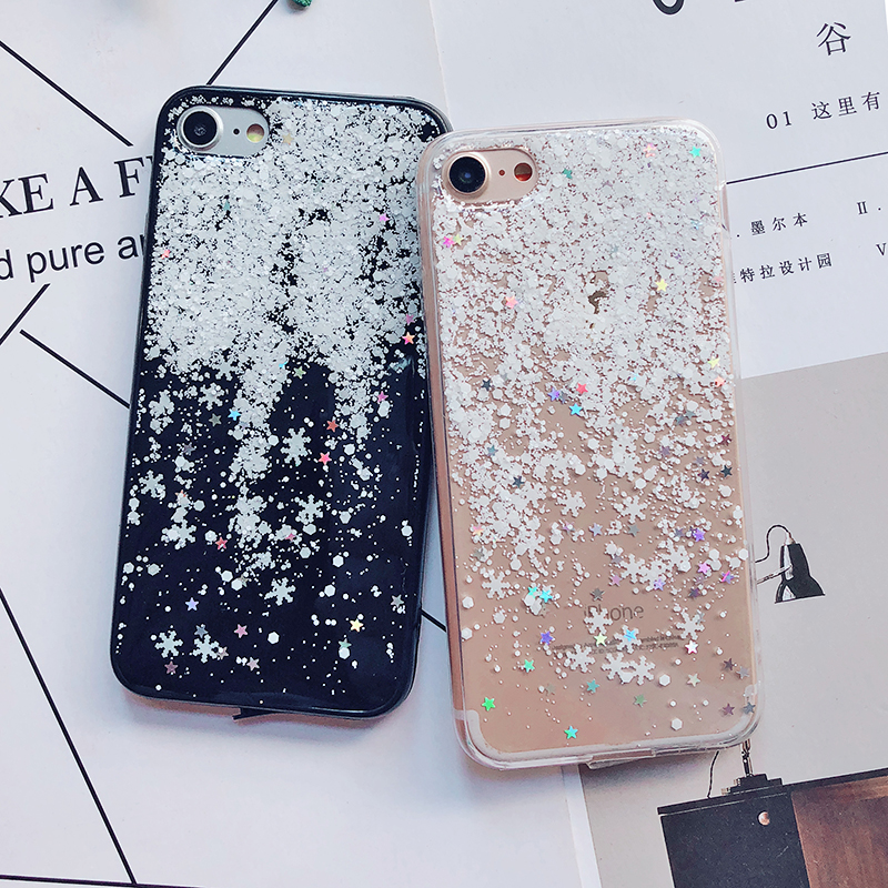 Luxury Gold Foil Bling Marble Phone Cases For iPhone X 10 Cover Hole Soft TPU Cover For iPhone 7 8 6 6s Plus Glitter Case Coque (27)