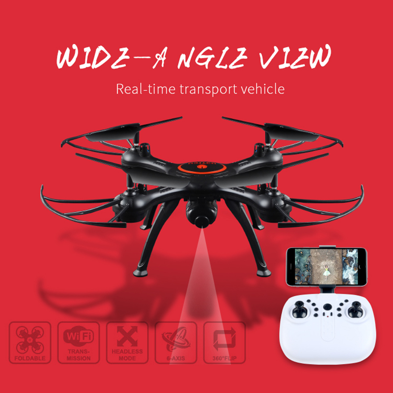 Quadcopter X5UW Drone with WiFi Camera HD 720P Real-time Transmission FPV Quadcopter 2.4G 4CH RC Helicopter Drone Quadrocopter professional 1327 rc drone with hd camera 2 4g 4ch wifi fpv real time transmission rc helicopter quadcopter vstarantula x6 u842
