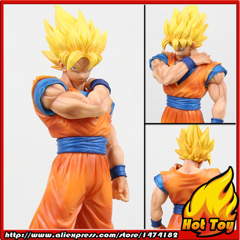 100% Original Banpresto Resolution of Soldiers Collection Figure Vol.1 - Super Saiyan Son Gokou from Dragon Ball Z майка print bar pantera