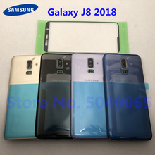 For Samsung Galaxy J8 2018 J810 J810F J810G J810DS J810Y Original Middle Frame Housing Back Cover Chassis Rear Panel J8 Sticker