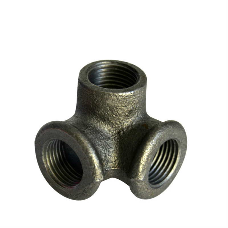 """FEMALE IRON SOCKET 1//2/"""" BSP BLACK MALLEABLE PIPE FITTING STRAIGHT GAS CONNECTOR"""