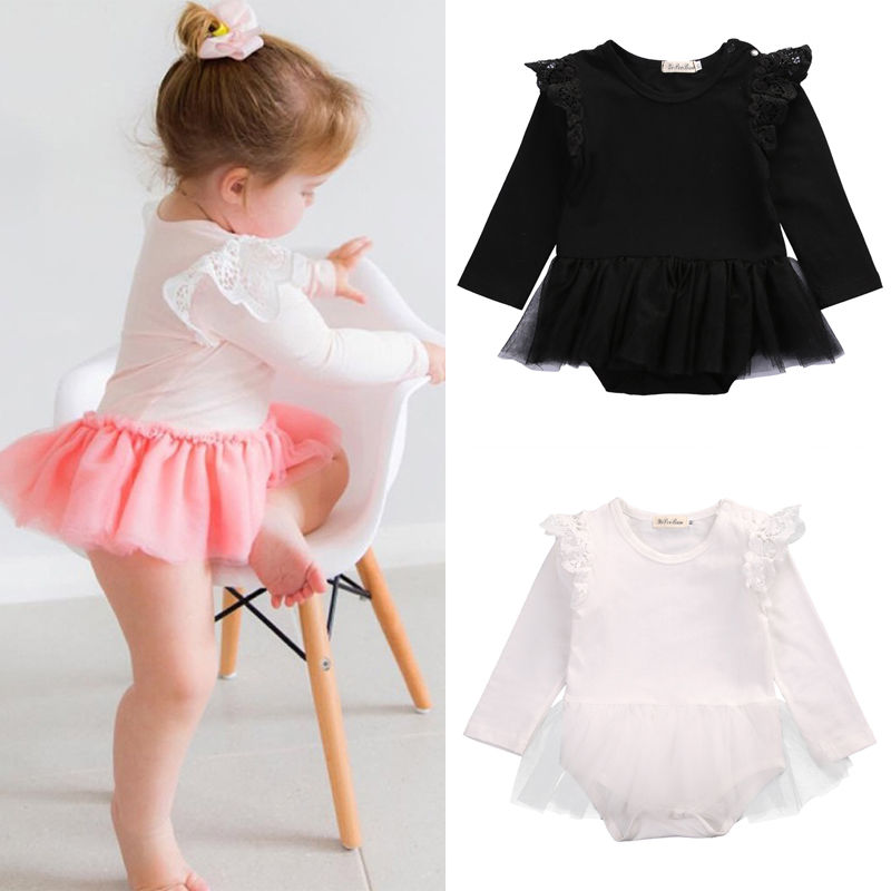 Newborn-Toddler-Baby-Girls-One-Piece-Romper-Tutu-Dress-Clothes-Lace-Outfits-1