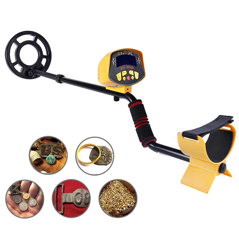 Professional Metal Detector MD3010II Underground Metal Detector Gold High Sensitivity and LCD Display MD-3010II Metal Detector