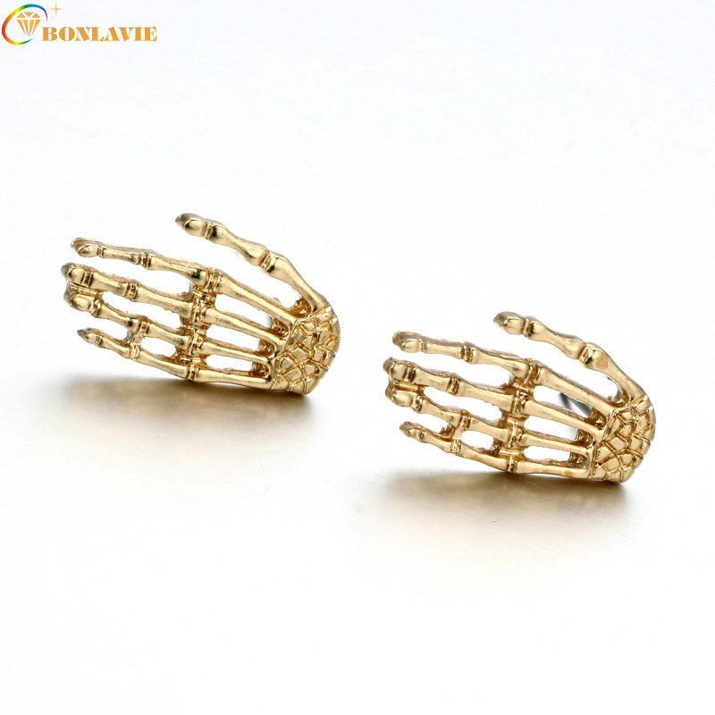 New Fashion Vintage Jewelry Punk Style Palm Earrings StudEarring Best Gift For Gril Wholesale