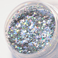 1 Caja de Polvo de Purpurina Holográfica Holo Brillante Escarcha Polvo Del Polvo de Uñas de Manicura DIY Decoración Del Arte Del Clavo Accesorios