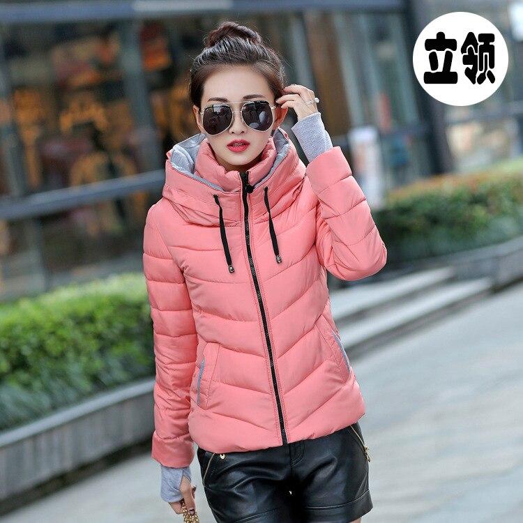 Coton Neige Brzfmrvl De Coat warm Couleur Femmes D'hiver Printemps Warm 3xl Chaud Solide S Grande Manteau Veste Taille Coat 6OYOq1