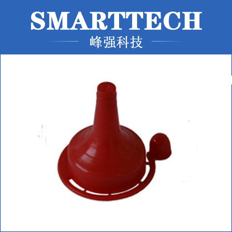 Red color household product funnel plastic mold household product shell plastic injection mold