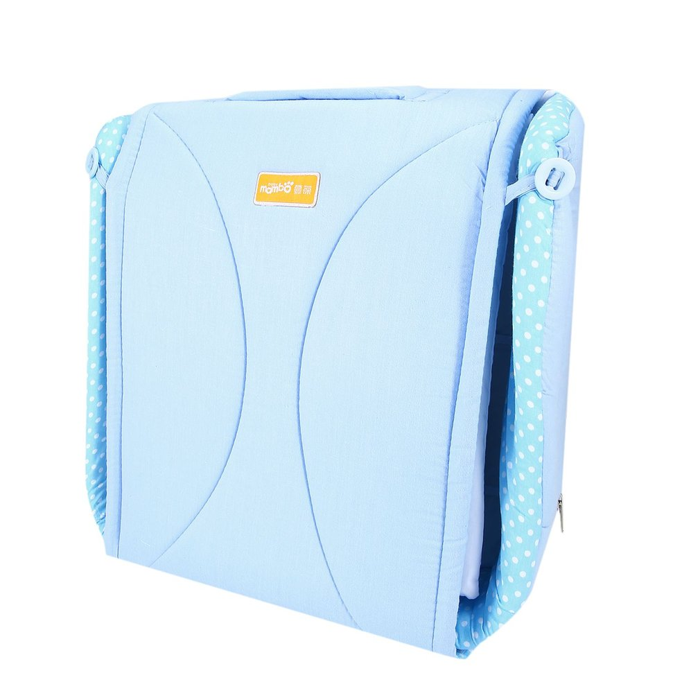 Mambobaby 2 in 1 Baby Bed Portable Crib Nappy Mummy Bag Stroller Waterproof Large Capacity Bags Multifunctional Foldable Cribs mambobaby newborn baby crib 2 in 1 portable nappy mummy bag stroller bags multifunctional foldable cribs traveloutdoor essential