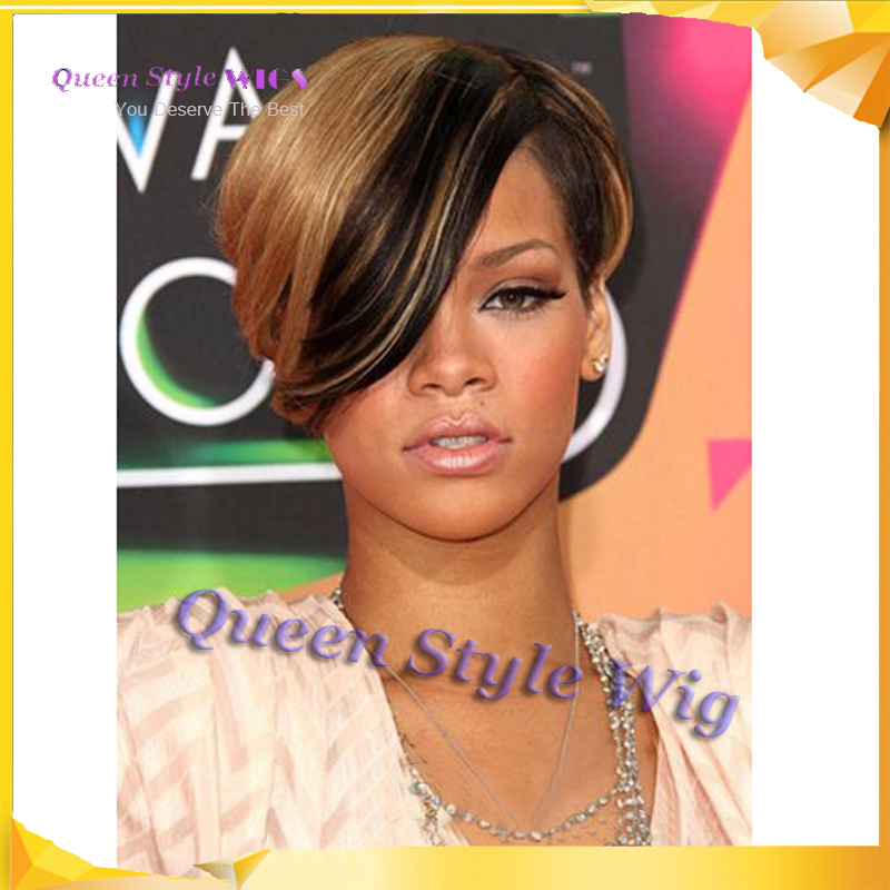 Neueste Trend Gut Gestaltet Promi Rihanna Frisur