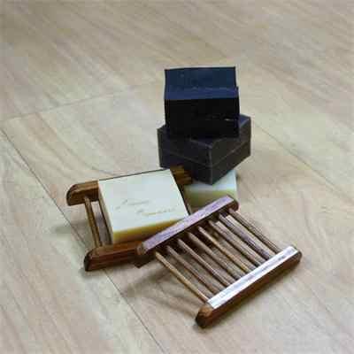 9x8.3 CM w kształcie litery u goście są niesamowicie drewniane mydelniczka Box pojemnik z hydromasażem trwałe mydelniczka kubek do przechowywania Rack do łazienki oprawa gorąca sprzedaż