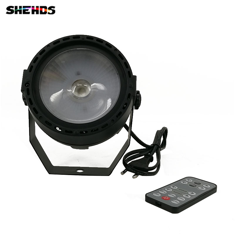 Wireless Romote Control  LED Par COB 30W Lighting DMX Control For Stage Lighting Effect Professional For DJ Party Club Disco