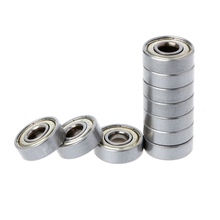 Deek Robot 10Pcs/set Ball Bearing 608ZZ 623ZZ 624ZZ 625ZZ 626ZZ 688ZZ Mini Metal Double Shielded Flanged  For 3D Printer Parts