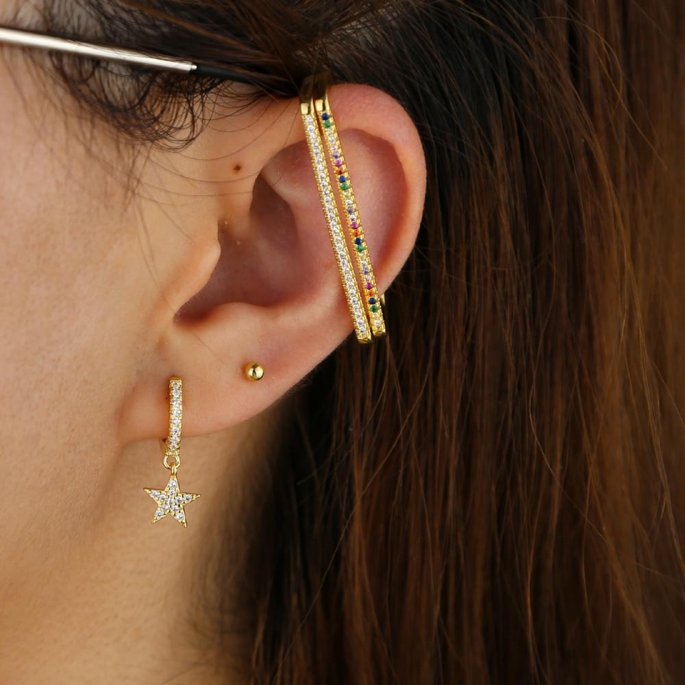 BRASS EAR CUFF  Y (6)