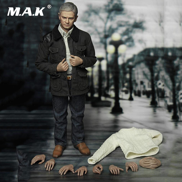 1:6 Scale Full Set Action Figure Collection Freeman John Waston Doctor Martin Figure Model Toys for Gift