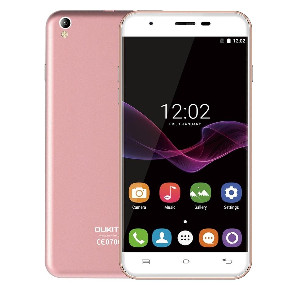 2017 Hot Oukitel U7 MAX Smartphone 5 5 HD IPS Screen MTK6580A Quad Core 1G RAM