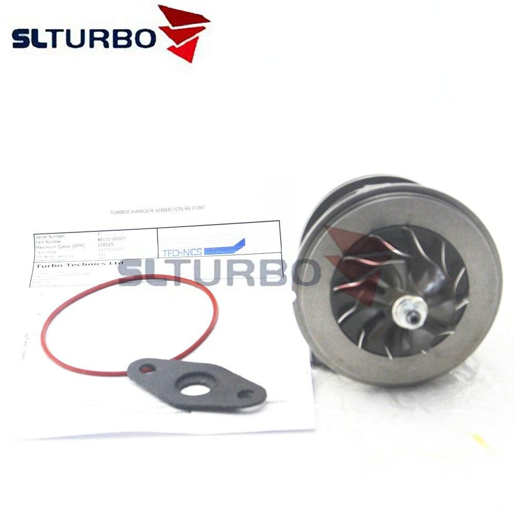 49131-06006 Turbo Cartridge Repair Kit For Opel Combo C 1.7 CDTI 74 Kw 100 HP Z17DTH - 860128 860147 Turbocharger Core Balanced