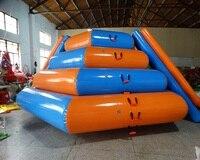 Надувные острова Огромный надувной бассейн надувной плавающий аквапарк плавающий весело