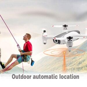 Image 3 - Syma W1 Drone Gps 5g Wifi Fpv z 1080p Hd regulowana kamera za mną tryb gesty zdalnie sterowany Quadcopter Vs F11 Sg906 Dron