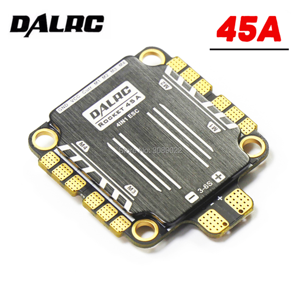 30 5 30 5mm DALRC Rocket 45A 4 In 1 ESC 3 6S BLheli32 Support DShot1200
