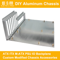 PC Test Bench Open Frame DIY Mod Computer Aluminum Case Box M ATX ITX M ATX Motherboard Overclock Accessories