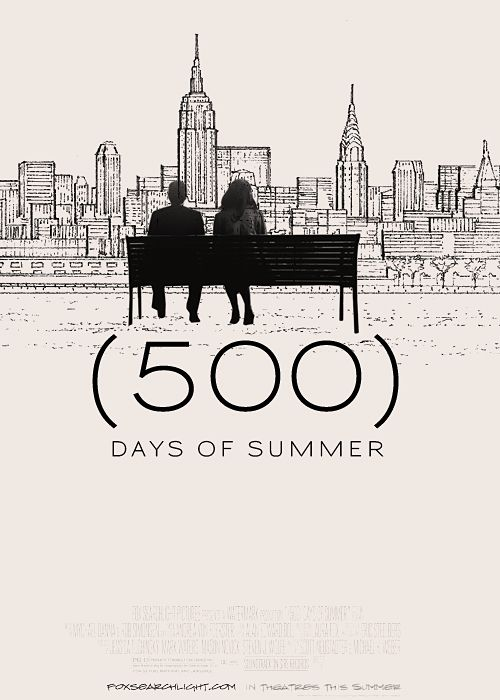 500 Days Of Summer Poster Vintage Retro Decorative DIY Wall Canvas