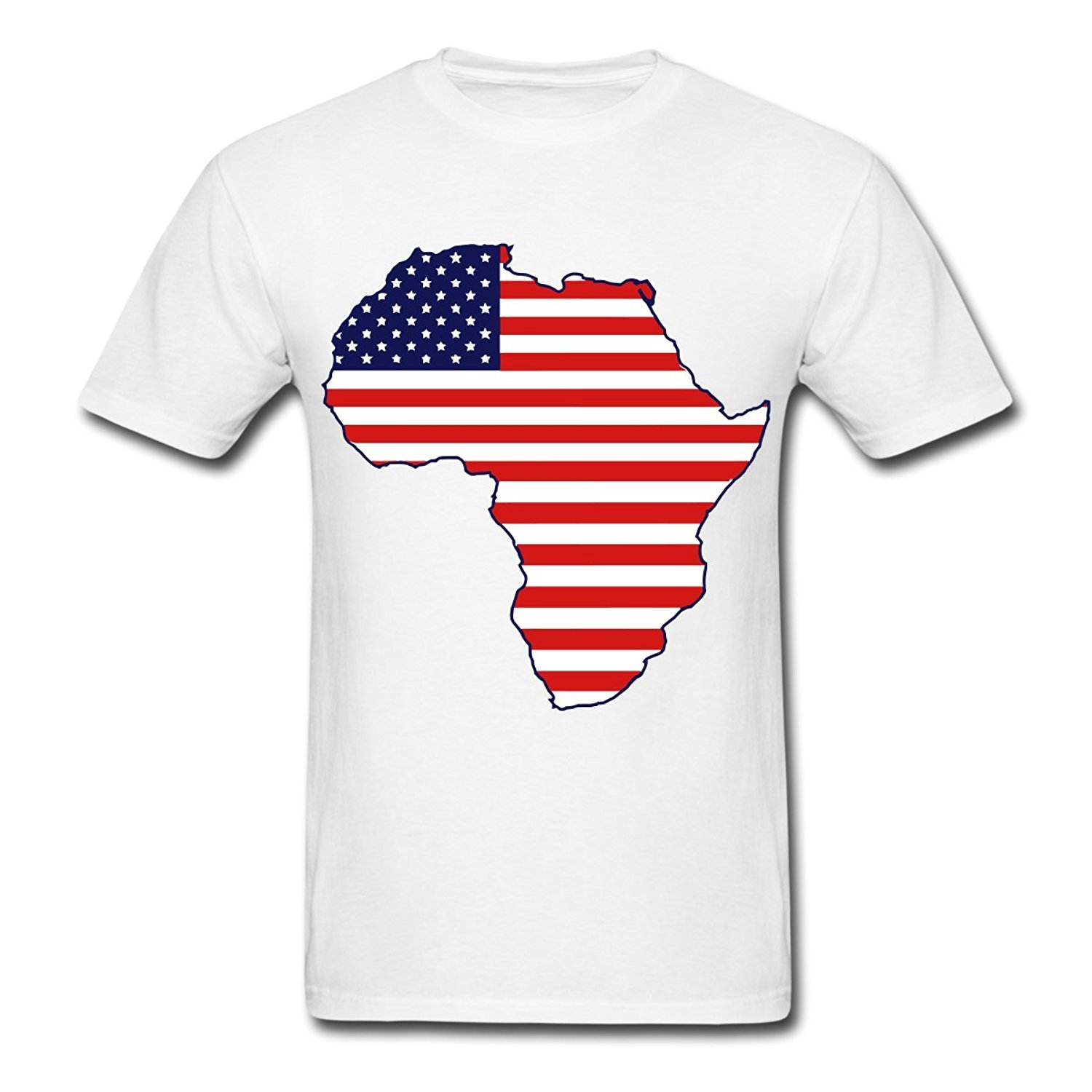 african american continent flag men 39 s t shirt white style. Black Bedroom Furniture Sets. Home Design Ideas