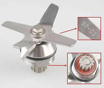 5pcs jtc blender knife Stainless Steel blender blades blade tm-767 knife spare parts grinder 67-02 - DISCOUNT ITEM  35% OFF Home Appliances
