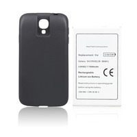 7600mAH Extended Phone Commercial Battery For Samsung Galaxy S4 I9500 NFC Battery Cover Back Door