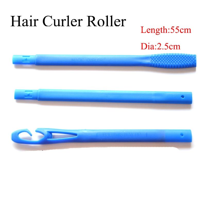 40 pcs/set 55 cm plastic Magic hair roller new magic hair curlers with diameter 2.50 cm long 2018 new seller