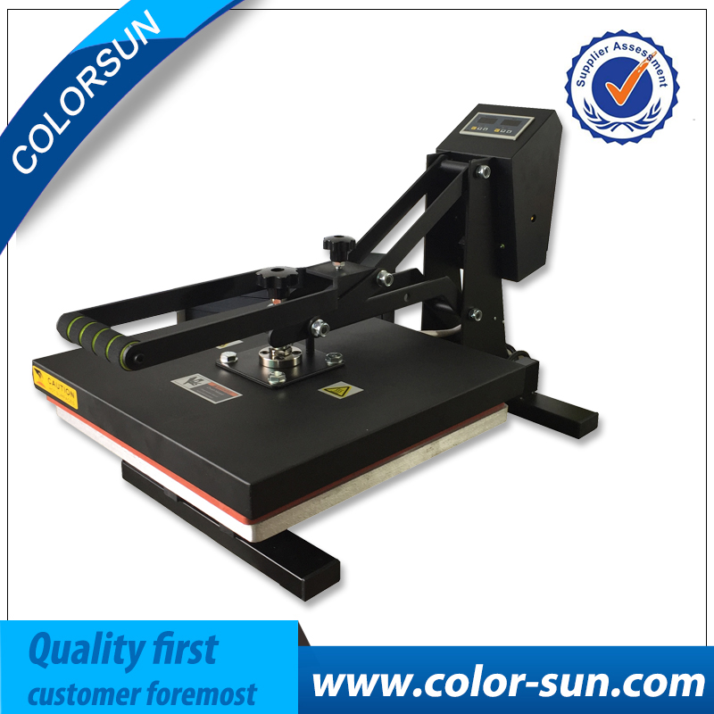 New 38 38 flatbed manual t shirt printing machine for Computerized t shirt printing machine