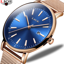 2019 New Mens Watches Top Brand Luxury Wristwatch Women's Ultra-Thin Stainless Steel Mesh Belt Analog Quartz Watch Couple watch стоимость