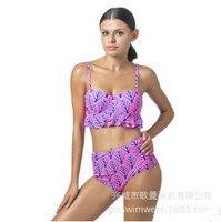 Bikini Push Up Brazilian 2017 New Sexy Women Two Piece Swimsuit Set Top Quality Crochet Knitting