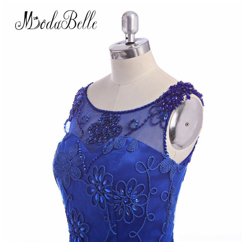 Eleganta långa Royal Blue Evening Dresses 2016 Moderna - Särskilda tillfällen klänningar - Foto 6
