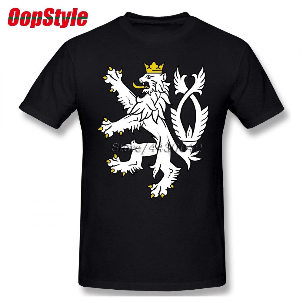 fab3a2fbbb71 BIG SALE  CHEAP Coat Of Arms Of The Czech Republic T-shirt For Men ...